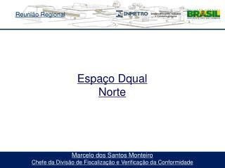 Marcelo dos Santos Monteiro Chefe da Divisão de Fiscalização e Verificação da Conformidade