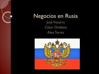 Negocios en Rusia