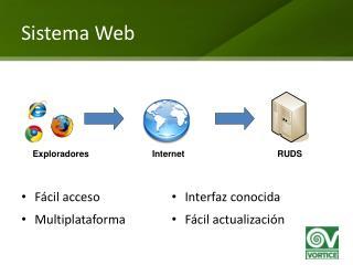 Sistema Web