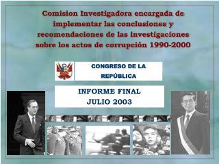 INFORME FINAL JULIO 2003