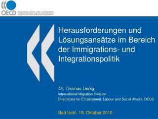 Herausforderungen und Lösungsansätze im Bereich der Immigrations- und Integrationspolitik