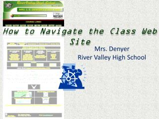 How to Navigate the Class Web Site
