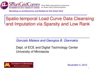 Spatio-temporal Load Curve Data Cleansing and Imputation via Sparsity and Low Rank