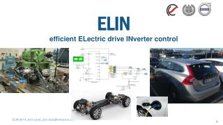 ELIN efficient ELectric  drive  INverter control