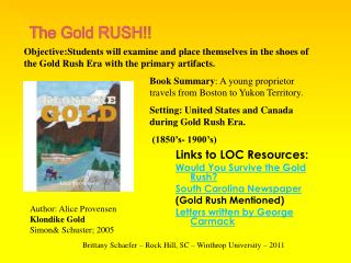 The Gold RUSH!!