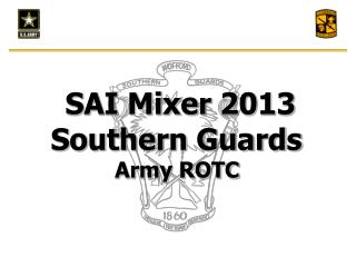 SAI Mixer 2013 Southern Guards Army ROTC