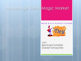 Homepage Trend Magic Market