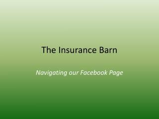 The Insurance Barn