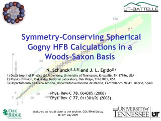 Symmetry-Conserving Spherical Gogny HFB Calculations in a Woods-Saxon Basis