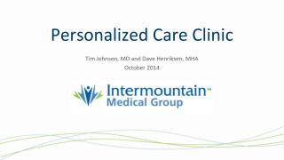 Personalized Care Clinic