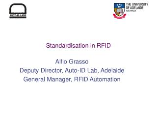 Standardisation in RFID