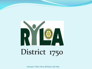 District  1750