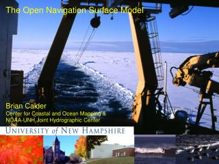The Open Navigation Surface Model