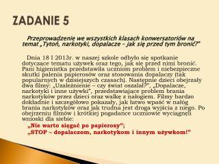 ZADANIE 5