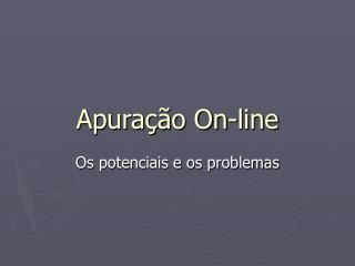 Apuração On-line
