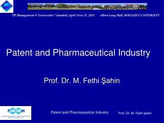 Prof. Dr. M. Fethi Şahin