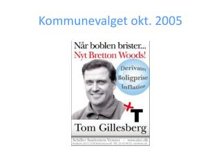 Kommunevalget okt. 2005