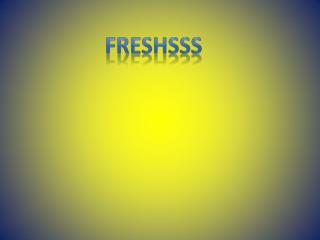 freshsss