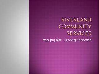 Riverland Community Services