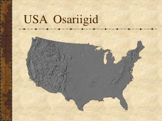 USA Osariigid