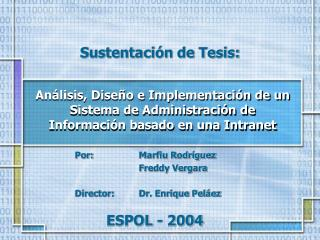 ESPOL - 2004