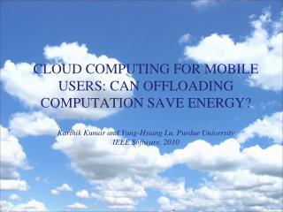 Private (Internal) Cloud