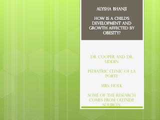 Mentors: Marcina Cooper, M.D. Rahman Uddin, M.D. Veronica Zavala, P.A.