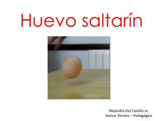 Huevo saltarín
