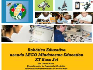 Robótica Educativa usando LEGO  Mindstorms Education  XT  Base Set