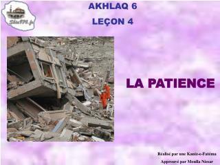 AKHLAQ 6 LE ÇON 4