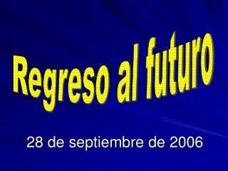 28 de septiembre de 2006