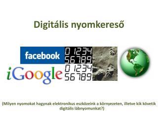 Digitális nyomkereső