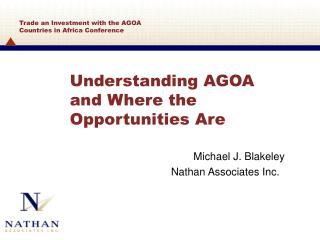 Understanding AGOA and Where the Opportunities Are