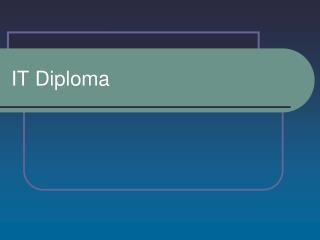 IT Diploma
