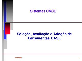 Sistemas CASE