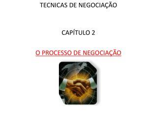 TECNICAS DE NEGOCIAÇÃO