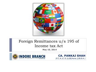 Foreign Remittances u/s 195 of Income tax Act