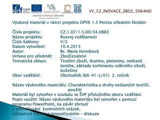 VY_52_INOVACE_ZBO2_5064HO