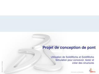 Projet de conception de pont