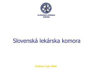 Slovenská lekárska komora