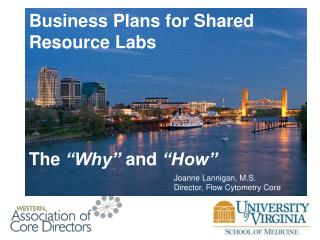 Business Plans for Shared Resource Labs