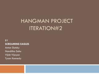 Hangman project iteration#2
