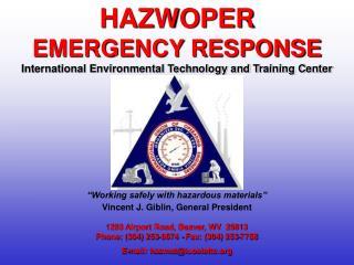 1293 Airport Road, Beaver, WV 25813 Phone: (304) 253-8674 - Fax: (304) 253-7758