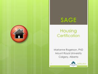 SAGE Housing Certification