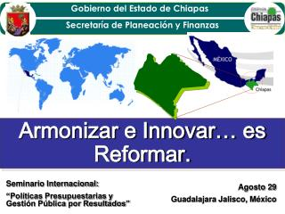Armonizar e Innovar… es Reformar.