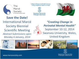 Save the Date! International Marcé Society Biennial Scientific  Meeting