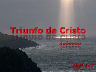 Triunfo de Cristo