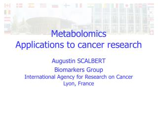 Metabolomics Applications to cancer research