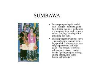 SUMBAWA