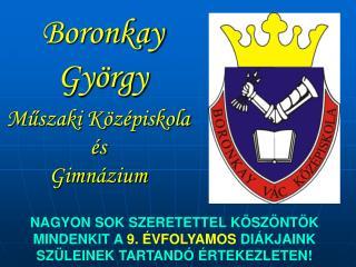 Boronkay György
